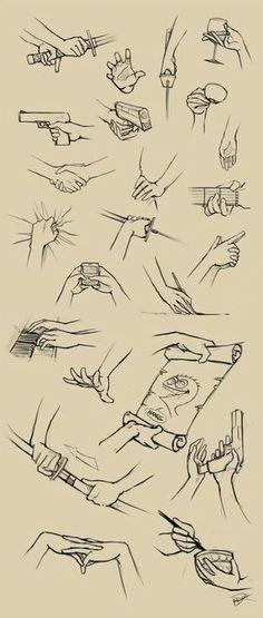 Hands; How to Draw Manga/Anime
