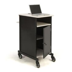 $295.98 Oklahoma Sound Jumbo Presentation Cart - Overstock Shopping - The Best Prices on Oklahoma Sound Corporation Stands & Carts