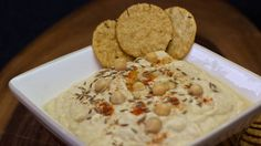 This quick and easy no oil hummus recipe is rich, creamy and full of flavor! Best of all it is 100% plant based vegan with no cholesterol.  Eat as a snack, take to parties or even pack in your lunch box for a quick and easy meal that is healthy for you and packs a delicious