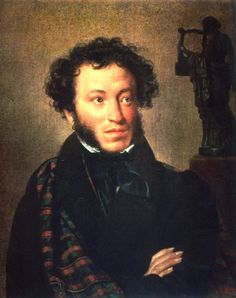 Today is the birthday of Alexander Pushkin, born in 1799. He  was a Russian author of the Romantic era who is considered by many to be the greatest Russian poet and the founder of modern Russian literature.
