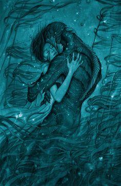 Poster do filme A Forma da Água / Reprodução