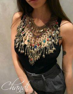 Necklaces ORIGINAL Jewelery tribal fusion freepeople gypsy bellydance boho