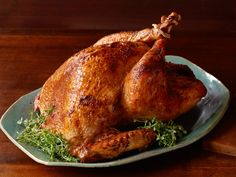 Oven-Roasted Turkey Recipe : Patrick and Gina Neely
