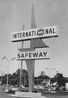 Safeway 1964. Lincoln, Nebraska