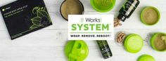 "Looking for a simple way to convert to a healthy lifestyle?  Give The System a try! 3 easy steps!  Wrap*Remove*Reboot  WRAP: EVERY 3 DAYS Tighten, tone, and firm your body   REMOVE: 2 DAYS EVERY MONTH Reset and rebalance your system with the Cleanse while you remove ""bad"" foods from your diet and replace with healthy foods   REBOOT: EVERY DAY Fire up your metabolism n more calories and boost energy  with Ultimate ThermoFit and Greens! Contact me for details!"
