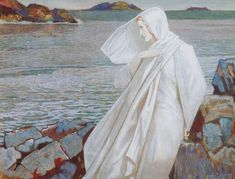 The Turn of the Tide~ John Duncan (Scottish 1866-1945)