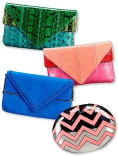 Brian Atwood clutches