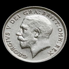 1922 George V Silver Sixpence - VF