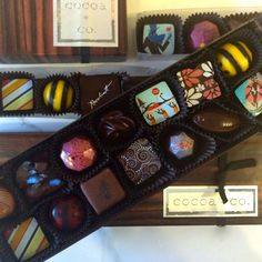 We've done the tasting for you and selected the most exquisite flavors from each chocolatier so that we can offer you a box that truly represents The Best of the Best. It was a tough job, but somebody