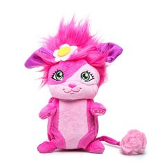 Popples BUBBLES Stuffed Animal Toy Netflix Cartoon TV Show Pop Open Ball Pink #SpinMaster