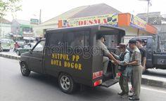 Heibogor.com 100% Bogor - Satpol PP Kota Bogor Razia Gelandangan dan Pengemis