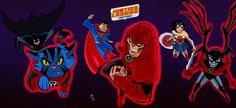 Justice League Action rage of the redlanters by nic011.deviantart.com on @DeviantArt