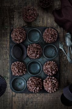 Food and Cook by trotamundos » Cupcakes de chocolate