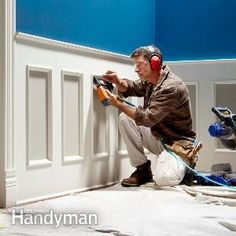 TRIM DETAIL – How to bring out your home's character with trim. How to Install Wainscoting.