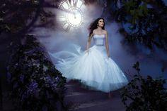 Disney Wedding Inspiration: The 2013 Alfred Angelo Disney Fairy Tale Wedding Gowns Cinderella Disney Inspired Wedding, Disney Wedding Dresses, Disney Dresses, Dream Wedding Dresses, Bridal Dresses, Wedding Gowns, Disney Weddings, Wedding Disney, Wedding Blue