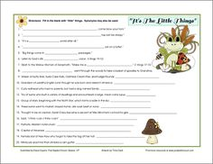 Little Things Printable Game Download
