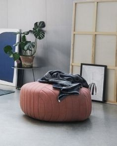 Muuto - Five Pouf by Anderssen & Voll Modern Shop, Small Space Living, Occasional Chairs, Living Room Inspiration, Decoration, Bean Bag Chair, Furniture Design, Pentagon Shape, Ottoman Stool