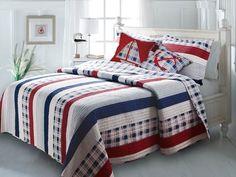 Nautical Stripes Bonus Set by Greenland Home Fashions - BeddingSuperStore.com