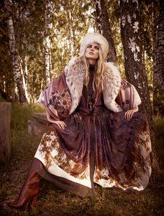 Mariano Vivanco and Marina Linchuk for Vogue Russia