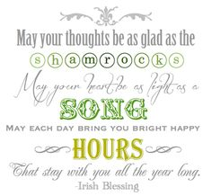 Another Irish Blessing Printable