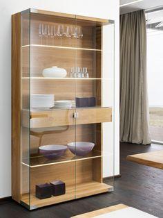 NOX Display cabinet by TEAM 7 Natürlich Wohnen design Jacob Strobel