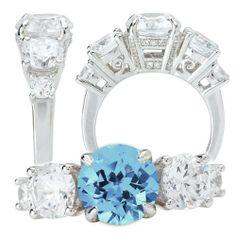 18k Elite Collection 5-stone diamond engagement ring with Chatham 8mm round aquamarine spinel Elite Bridal Collection,http://www.amazon.com/dp/B00CEMBIYO/ref=cm_sw_r_pi_dp_GSnztb0458438HJN
