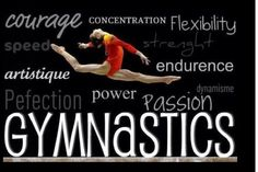 Your nothing in gymnastics without it