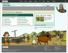 Viking history website by BBC - good supplement for Viking Tales (term 3)