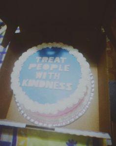 22 Birthday, Cute Birthday Cakes, Best Friend Birthday, Daughter Birthday, One Direction Birthday, Harry Styles Birthday, Blue Cakes, Party Fashion, Cake Designs
