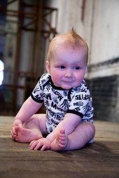 Body bebè Misfits Skeleton Hands
