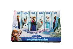 Steenland Frozen Disney Christmas Cute Gift 6 Milk Chocolate Mini Bars 84G