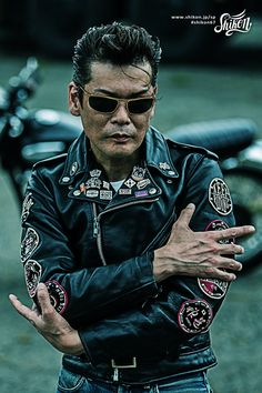 """Shikon original embroidered patches designed for rocker, rider, caferacer featuring Japanese """"KANJI"""" #rock #ロック #patch #ワッペン #rck'nroll #ロックンロール #rockers #ロッカーズ #rockandroll #ロカビリー #leatherjacket #レザージャケット #rockabilly #バイク #shikon67 #motorcycle #オートバイ #bike #カフェレーサー #caferacer #ビンテージ #vintage Patch Design, Pin Badges, Patches, Live, Jackets, Fictional Characters, Down Jackets, Fantasy Characters, Jacket"""