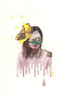 collage - yumi shimada on Behance