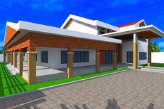Projet de renovation d'extension d'une residence a Dakar au Senegal, Albert Kwessi