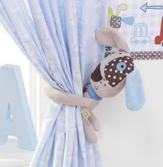 Lollipop Lane Speedy Pup Toy Tie Backs: Amazon.co.uk: Baby