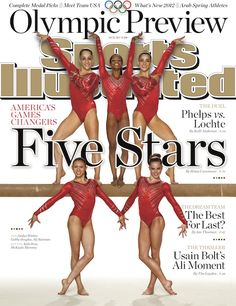 Hell yes united states gymnastics Olympic gold winners!
