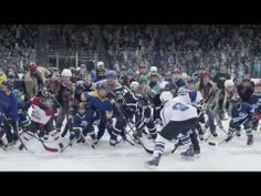 ▶ Good Ol Hockey Game - Tim Hortons Online Advert - YouTube  Timmy's, Sidney Crosby and hockey.  All good Canadian stuff!