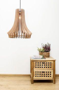 Wooden Chandelier Ceiling Light