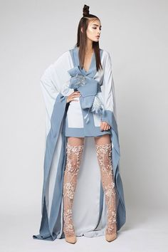 ~ Living a Beautiful Life ~ SS 2016 - Couture Look Fashion, High Fashion, Fashion Show, Fashion Outfits, Fashion Design, Fashion Fashion, Korean Fashion, Fashion Trends, Looks Street Style