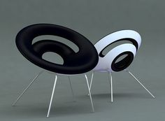 The Ring chair by Velichko Velikov, via Behance