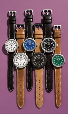 Handcrafted in Detroit: Shinola watches.