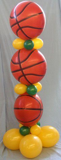 Basketball Themed Column
