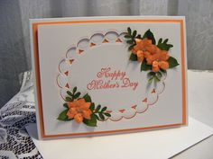 Beautiful Handmade Mother's Day Card with 3D Flowers by nuts4mccoy, $3.95