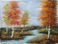 ABSTRACT CANVAS OIL PAINTING WALL ART DECOR HAND PAINTED LANDSCAPE ZO60 00435 #ZL #OilPainting