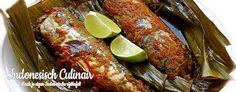 Pepesan - Gekruide, pittige makreel uit de oven - Spicy mackerel from the oven