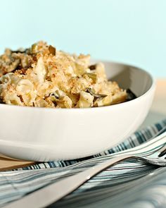 Mac and Cheese with Braised Leeks and Asiago Recipe