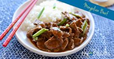 Mongolian Beef - The 4 Blades