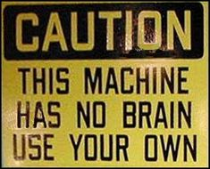 I need to post this sign on cars (found on http://www.guy-sports.com/humor/pictures/funny_warning_sign.htm)