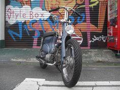 Stylebox NisimOO  | 日記 | スーパーカブカスタム90でチョッパースタイル!! - お店のミカタ