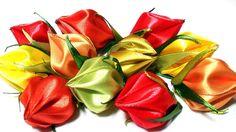 Лепестки для Цветов Канзаши / How to Make Flower Petals / DIY New Kanzas...